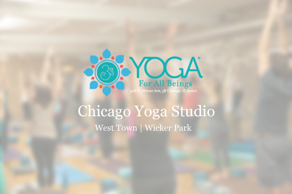 Visit our Chicago Yoga Studio